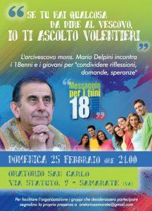 I 18enni incontrano l'Arcivescovo @ oratorio San Carlo | Samarate | Lombardia | Italia